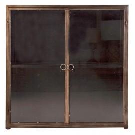 Шкаф навесной BERWICH 22860 серый металл VicalHome