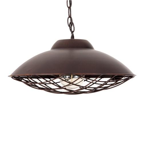Лампа подвесная 21537 черная патина VicalHome