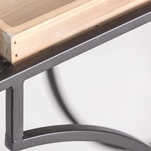 Стол сервировочный KALISZ 24716 натуральный VicalHome