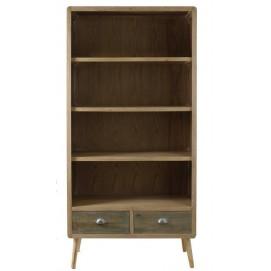 Шкаф книжный FEROE 22262 натуральный VicalHome