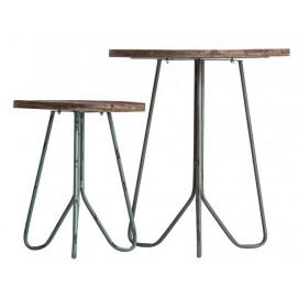 Набор столиков 2шт WROXTON 24781 натуральный VicalHome