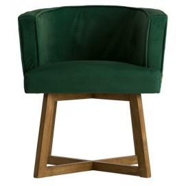 Кресло 24378 зеленое VicalConcept