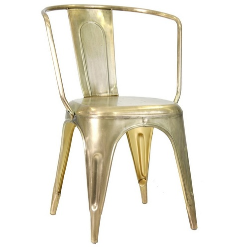 Кресло ESMIRNA 22284 золото VicalHome