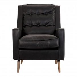 Кресло BREUILLET 20542 черное VicalConcept
