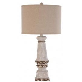 Лампа настольная  22674 белая VicalHome