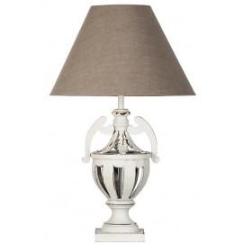 Лампа настольная 20132 белая серая VicalHome