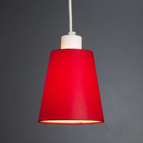 Лампа подвесная Charlotte 171114.01.16 белая красная Imperium Light