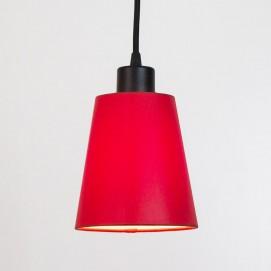 Лампа подвесная Charlotte 171114.05.16 красная черная