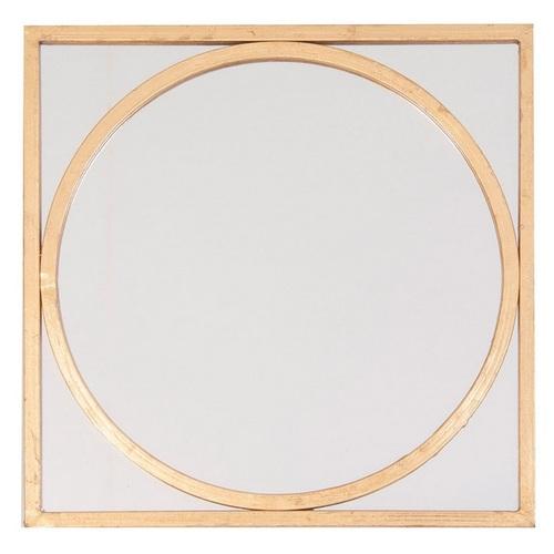 Зеркало INZELLER 23146 золото VicalConcept