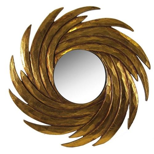 Зеркало 21889 золото 40 см VicalConcept