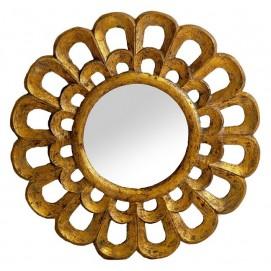 Зеркало 23925 золото 60 см VicalConcept