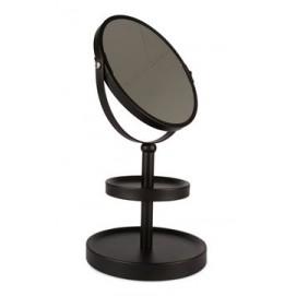 Зеркало настольное 16x33cm 701 черное Dyyk