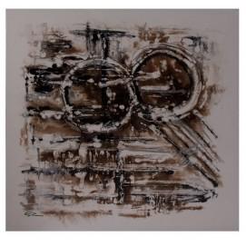 Картина ABSTRACTO 20250 коричневая VicalConcept