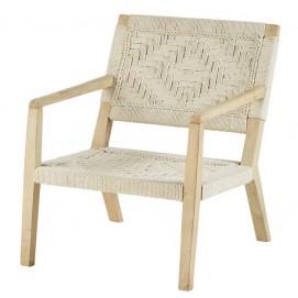 Кресло Palawan 175316 белое Maisons 2018