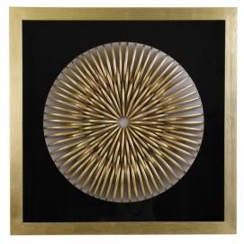 Картина 22791 черно-золотая VicalConcept