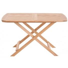 """Стол квадратный складной """"РИМИНИ"""" из тикового дерева MFTMA120 EVA TEAK"""