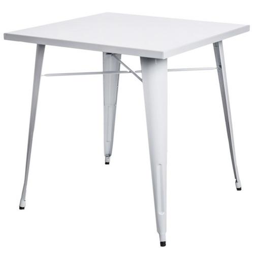 Стол обеденный Tolix MC-80х80 белый Primel