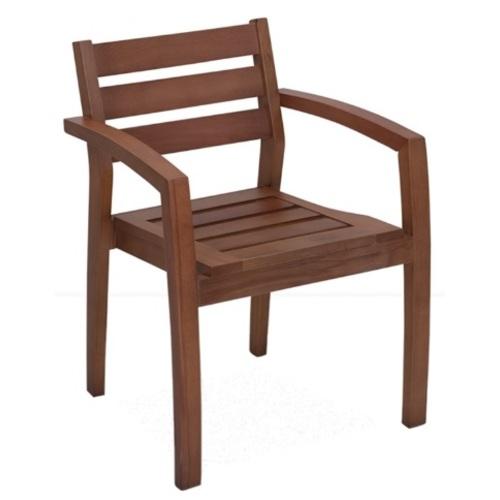 Кресло MIRA / MRA01 коричневое Caris
