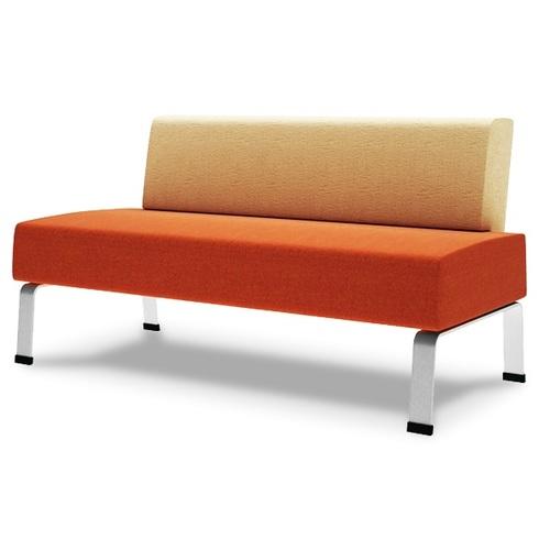Скамья Аксиома-скамья-секция оранжевая D'LineStyle