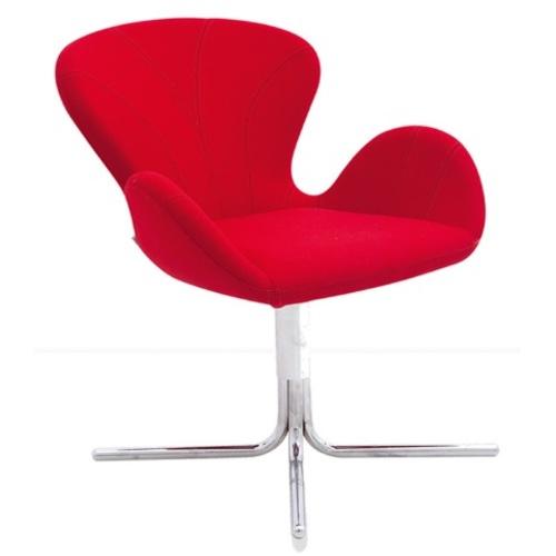 Кресло DILAY / DLY01 красное Caris