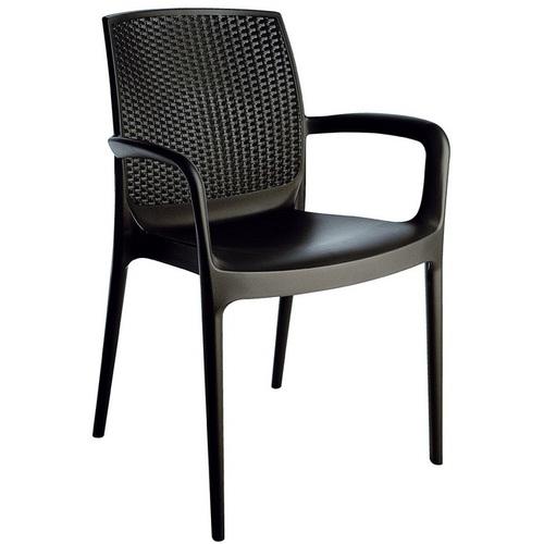 Кресло BOHEME S6618BY коричневое GRANDSOLEIL