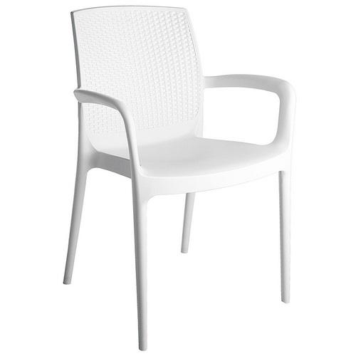 Кресло BOHEME S6618B белое GRANDSOLEIL