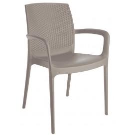 Кресло BOHEME S6618J серое GRANDSOLEIL
