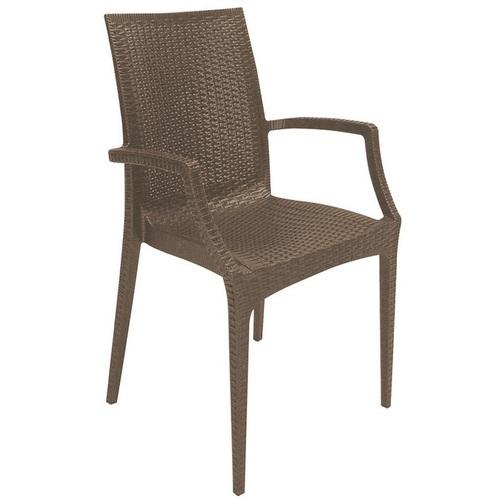 Кресло BISTROT S6625BR коричневое GRANDSOLEIL