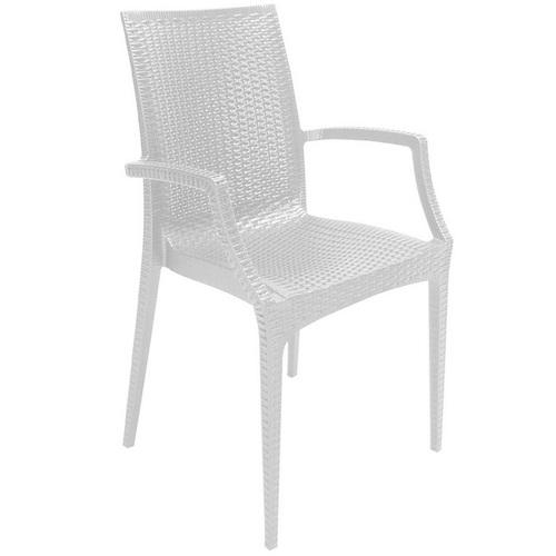 Кресло BISTROT S6625BR белое GRANDSOLEIL