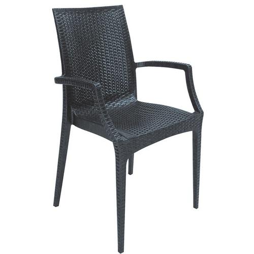 Кресло BISTROT S6625BR антрацит GRANDSOLEIL