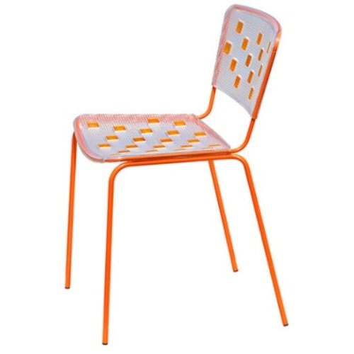 Стул Mosaico оранжевый Dal Segno