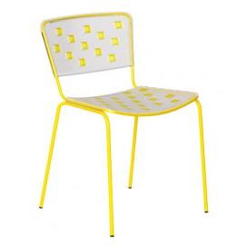 Стул Mosaico желтый Dal Segno