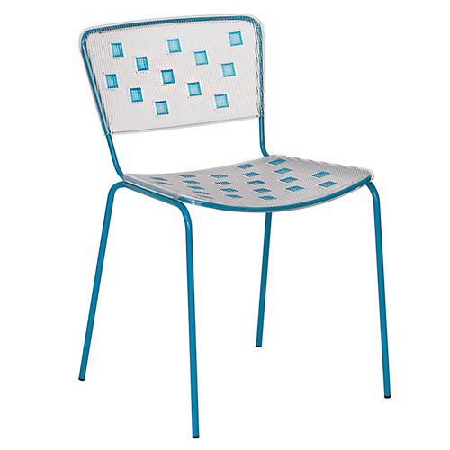 Стул Mosaico синий Dal Segno