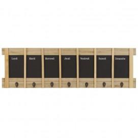 Ключница Key Rack 85 x 26 cm 178540 натуральная Maisons 2018