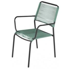 Кресло PAMPELUNE 174822 зеленое Maisons 2018