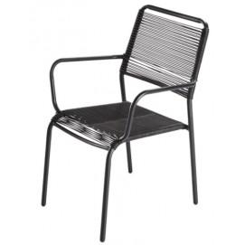 Кресло PAMPELUNE 174801 черное Maisons 2018