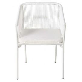 Кресло ARUN 174880 белое Maisons 2018