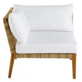 Кресло угол SEYCHELLES 174997 натуральное Maisons 2018