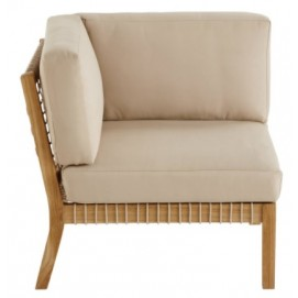 Кресло угол TAHITI 175027 натуральное Maisons 2018