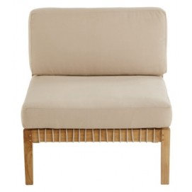 Кресло прямой угол TAHITI 175032 натуральное Maisons 2018