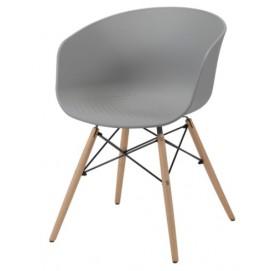 Кресло 3641 / 48 серое Zijlstra 2018