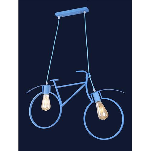 Люстра Велосипед 756PR7021-2 BLUE голубой Thexata 2018