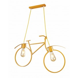 Люстра Велосипед 756PR7021-2 YELLOW желтый Thexata 2018
