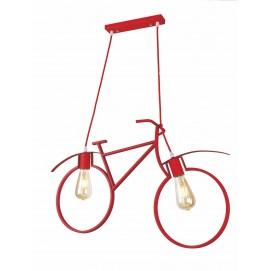 Люстра Велосипед 756PR7021-2 красный+красный Thexata 2018