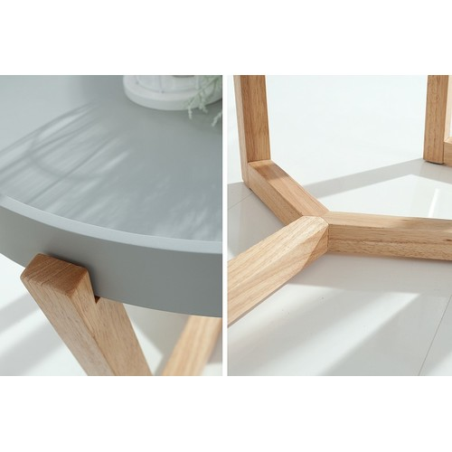 Набор столиков 2шт Scandinavia 2er серый 37505 Invicta 2018