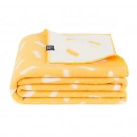Плед HONEY WKB112 WOOLKRAFTS желтый