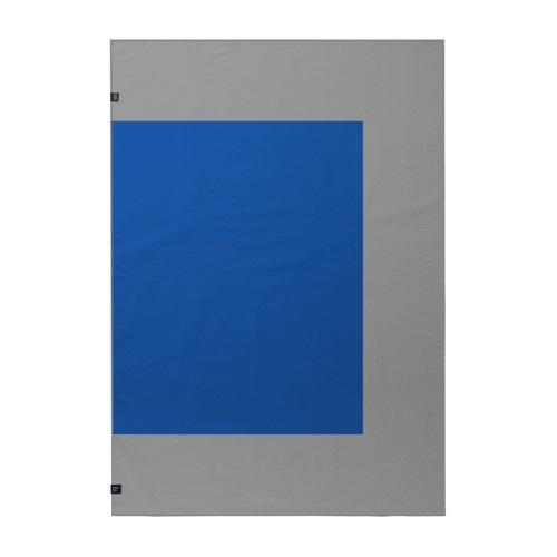 Плед HALFY WKB118 WOOLKRAFTS синий