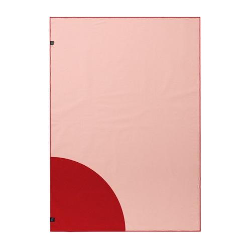Плед QUARTER WKB119 WOOLKRAFTS красный