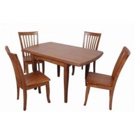 Стол обеденный TM-A28 натуральный ольха Tomebel