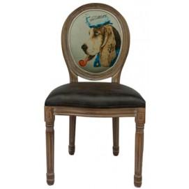 Стул ART Beagle 5KS24501 коричневый Собака Tomebel